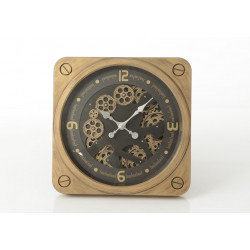 Horloge en laiton jules 49 cm