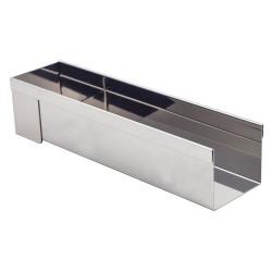 Porte-revues gris en métal