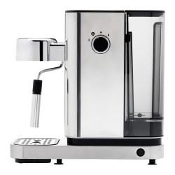 Horloge en métal argenté 73 cm