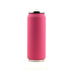 Canette isotherme rose 500 ml
