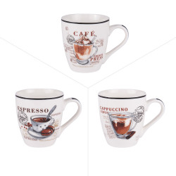 Tasse troquet 23 cl (lot de 3)