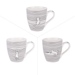 Tasse filo cats 23 cl (lot...