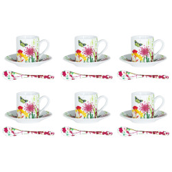 Set 6 tasses / sous tasses...