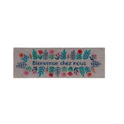Plateau carré métal or