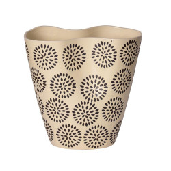 Vase vague durban clair 24 cm