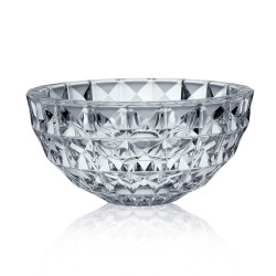 Coupe ronde 28cm diamond h14cm